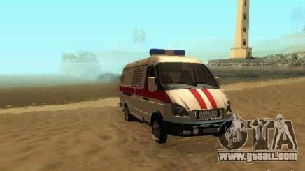 Gazelle 32214 Ambulance for GTA San Andreas