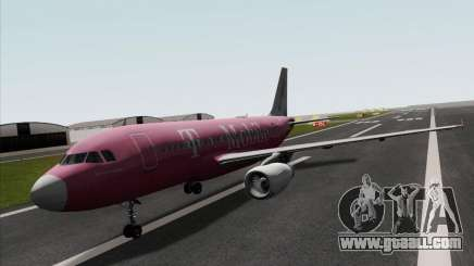 Airbus A319 Spirit of T-Mobile for GTA San Andreas