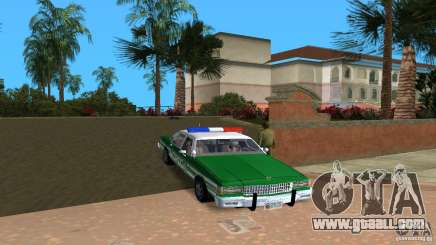 Ford LTD Crown Victoria 1985 Interceptor LAPD for GTA Vice City
