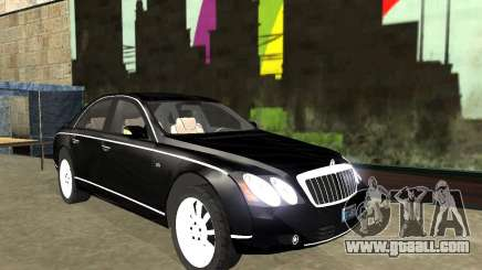 Maybach 57S for GTA San Andreas