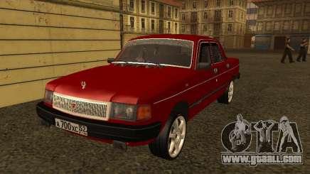 Volga GAZ 31029 Sl for GTA San Andreas