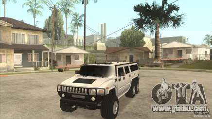 Hummer H6 for GTA San Andreas