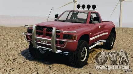 Dodge Ram 2500 Army 1994 v1.1 for GTA 4