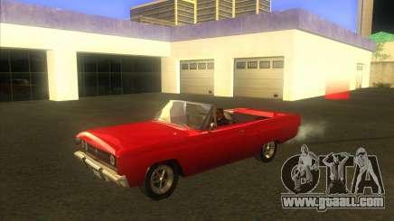 Dodge Coronet 1967 for GTA San Andreas