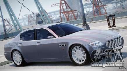 Maserati Quattroporte V for GTA 4