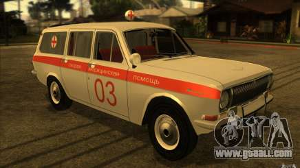 GAZ-24 Volga 03 ambulance for GTA San Andreas