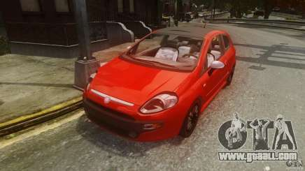 Fiat Punto Evo Sport 2010 for GTA 4