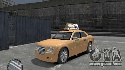 Chrysler 300c Taxi v.2.0 for GTA 4