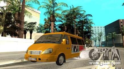 Gazelle 32213 (Restajl) for GTA San Andreas