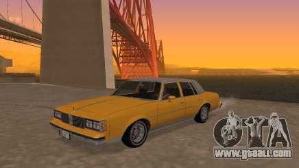 Oldsmobile Cutlass v2 1985 for GTA San Andreas