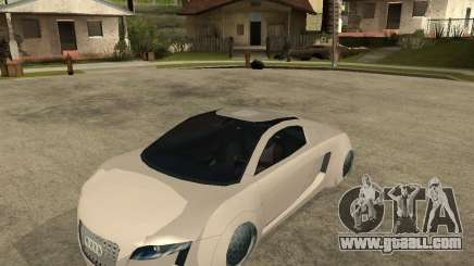 AUDI RSQ concept 2035 for GTA San Andreas