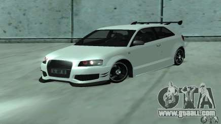 Audi S3 Full tunable for GTA San Andreas
