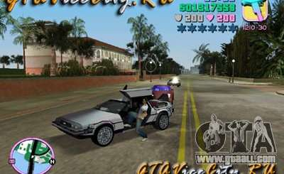 De Lorean for GTA Vice City
