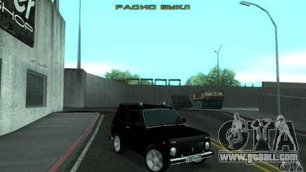 VAZ 21213 NIVA FBI for GTA San Andreas