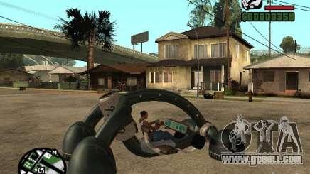 New Bravura UFO for GTA San Andreas