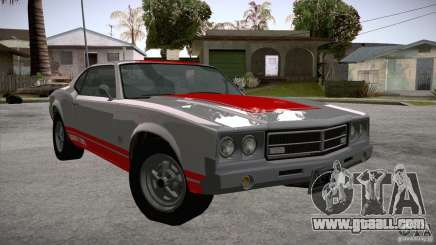 Sabre GT From GTA IV for GTA San Andreas