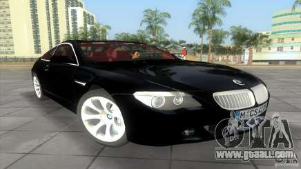 BMW 645Ci for GTA Vice City