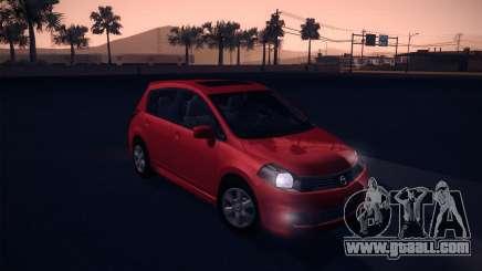 Nissan Versa Stock for GTA San Andreas