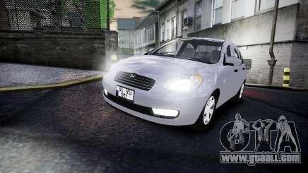 Hyundai Accent Era for GTA 4