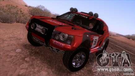 Range Rover Bowler Nemesis for GTA San Andreas
