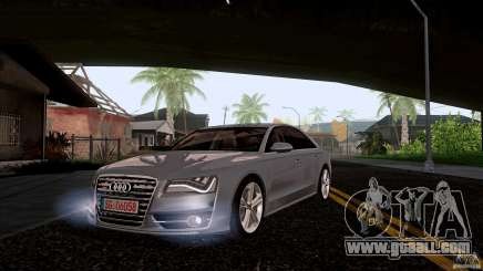 Audi S8 2012 for GTA San Andreas