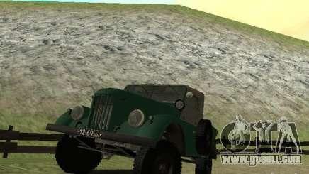 GAZ 69 APA 12 for GTA San Andreas