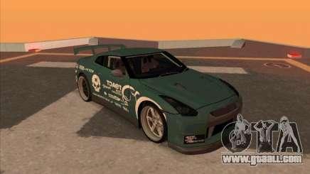Nissan GT-R R35 rEACT for GTA San Andreas