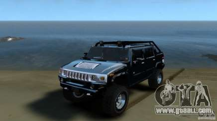 Hummer H2 4x4 OffRoad for GTA 4