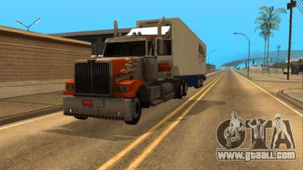 Western Star 4900EX v 0.1 for GTA San Andreas