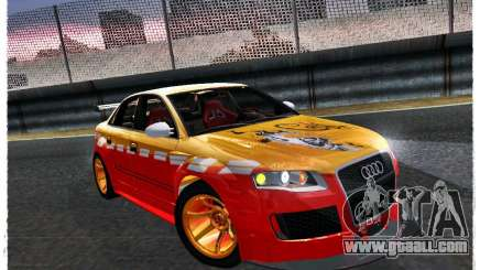 Audi RS4 Calibri-Ace for GTA San Andreas