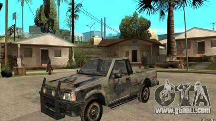 Rusty Mazda Pickup for GTA San Andreas