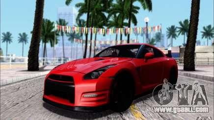 Nissan GTR 2011 Egoist (version with dirt) for GTA San Andreas