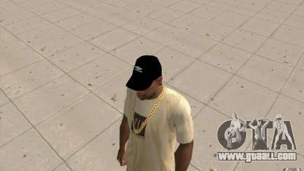 Umbro cap black for GTA San Andreas