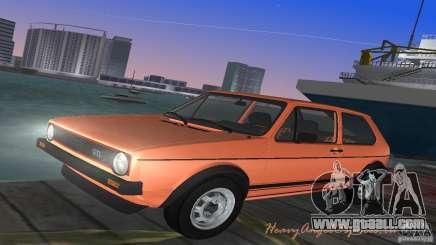 Volkswagen Golf Mk1 GTI for GTA Vice City