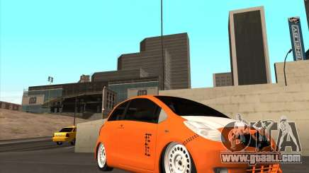 Toyota Yaris II Pac performance for GTA San Andreas