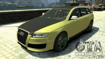 Audi RS6 Avant 2010 Carbon Edition for GTA 4