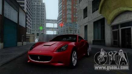 Ferrari California 2009 for GTA San Andreas