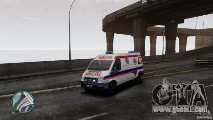 Ford Transit Ambulance for GTA 4