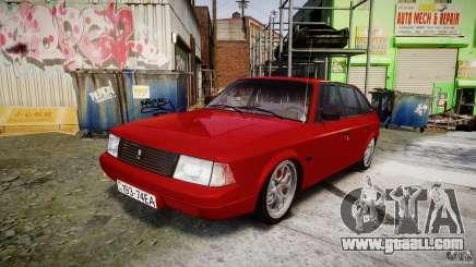 AZLK Moskvich 2141 STR-v 2.1 for GTA 4