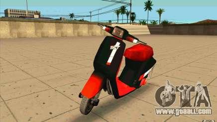 Honda Tact af09 for GTA San Andreas