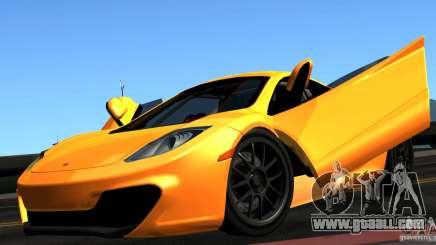McLaren MP4-12C TT Black Revel for GTA San Andreas