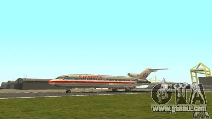 Boeing 727-100 American Airlines for GTA San Andreas