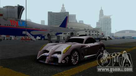 Panoz Abruzzi Le Mans V1.0 2011 for GTA San Andreas