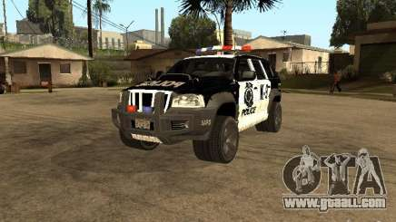 Jeep Grand Cherokee police K-9 for GTA San Andreas