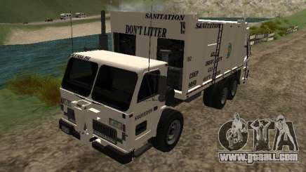 Garbage truck from GTA 4 for GTA San Andreas