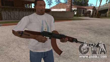 The RPK-74 for GTA San Andreas