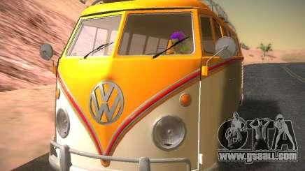Volkswagen Type 2 Custom for GTA San Andreas