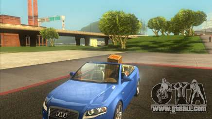 Audi A4 Convertible 2005 for GTA San Andreas