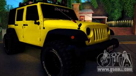 Jeep Wrangler 4x4 for GTA San Andreas