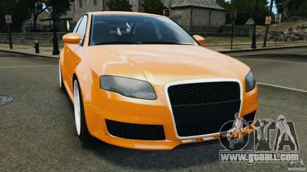 Audi RS4 EmreAKIN Edition for GTA 4